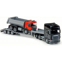 Scania trailer med lastbil. Emek 1:25