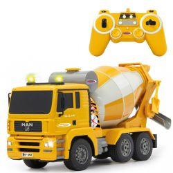 Radiostyrd MAN lastbil betongblandare 1:20