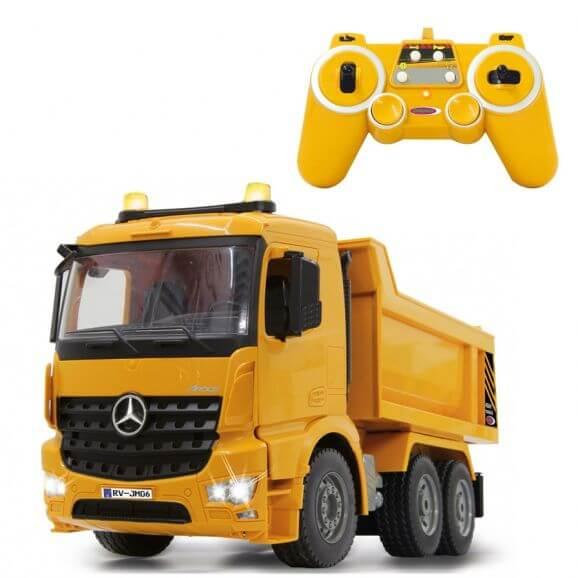 Radiostyrd lastbil Mercedes Arocs 1:20