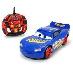 Disney Cars 3, RC Turbo Racer, Fabulous Lightning McQueen blå