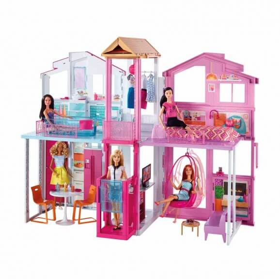 Barbie Lekhus Townhouse Malibu House Mer information kommer snart.