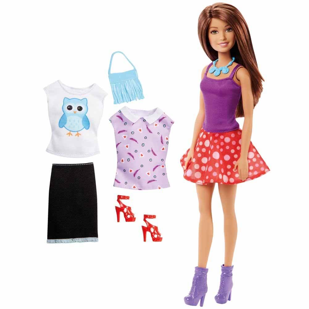 Barbie Docka Fashion Skirt Set Mode DMN99