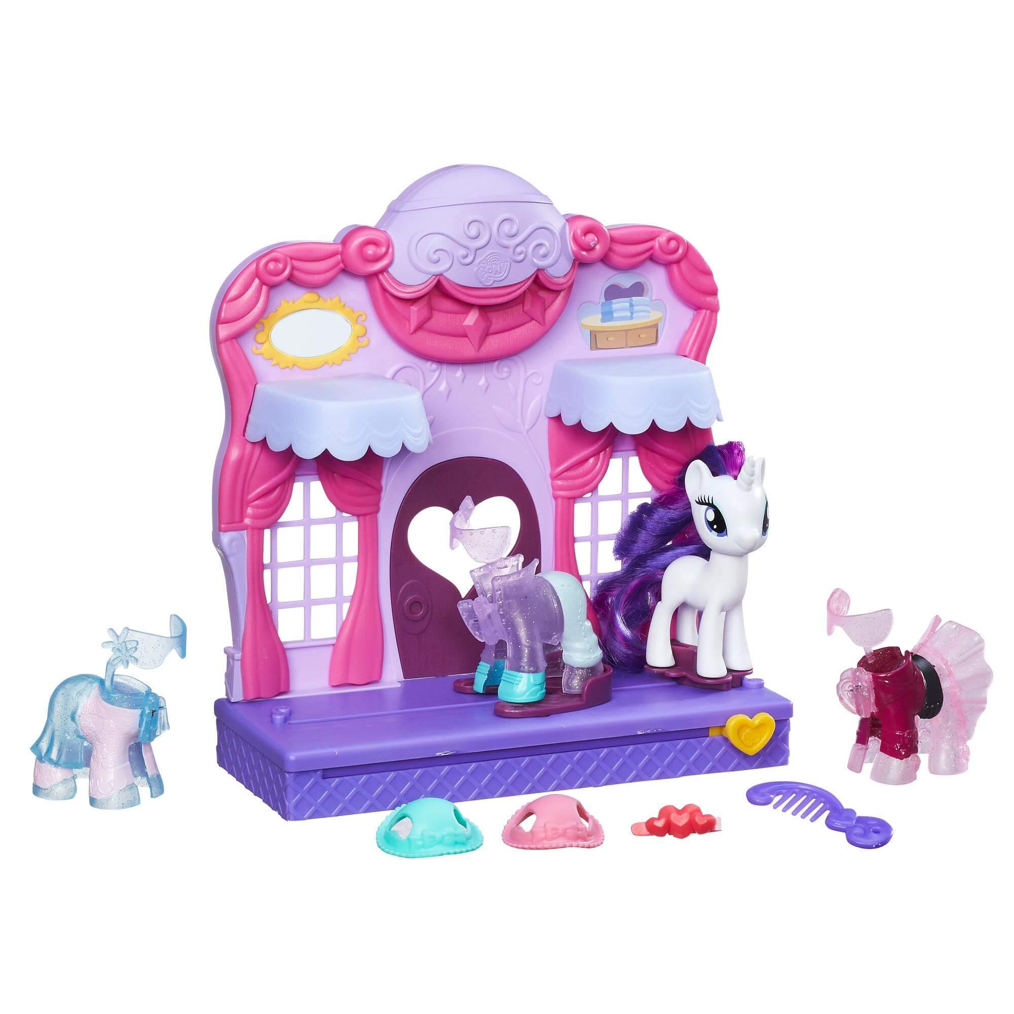 My Little Pony Rarity Fashion Runway Playset