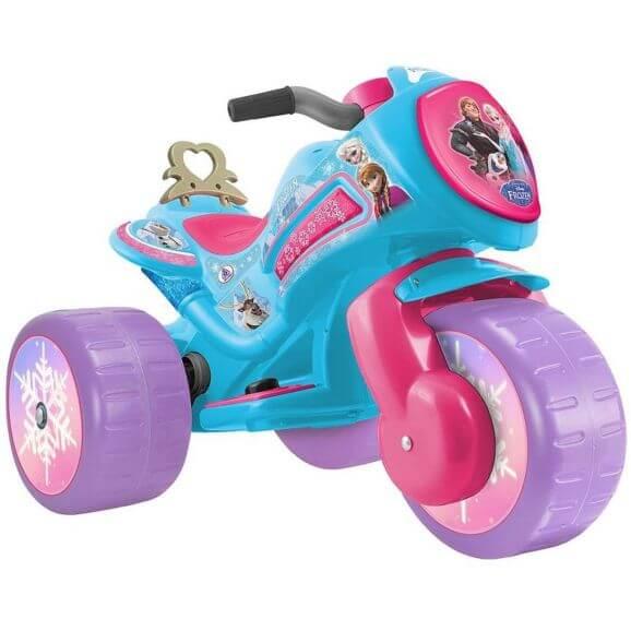 Eltrehjuling Frozen till barn 6 volt Injusa