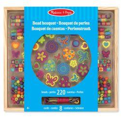 Pärlor i trä i fina färger 220 delar Melissa & Doug