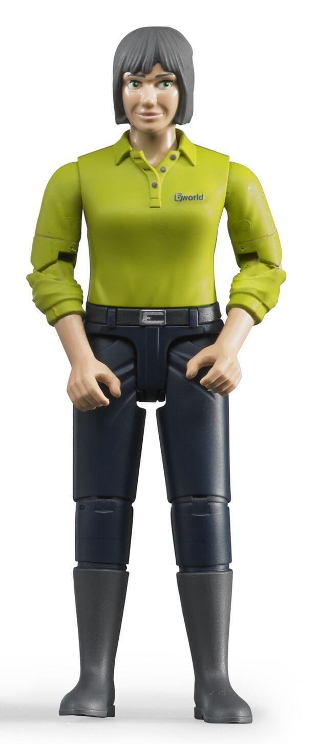 Bruder Figur Kvinna med Svarta Byxor 60405