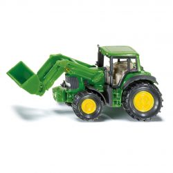 Siku Traktor Blister John Deere med Frontlastare