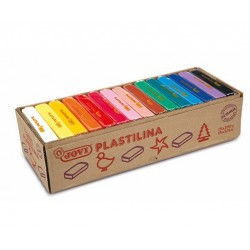 MODELLING CLAY 15 bars 350g in a Box - assorted colours