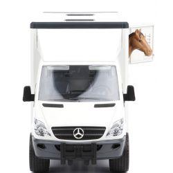 Bruder Hästtransport Mercedes Benz med en häst 02533