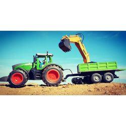 Släpkärra till radiostyrd traktor Fendt 1050 Vario Jamara 1:16
