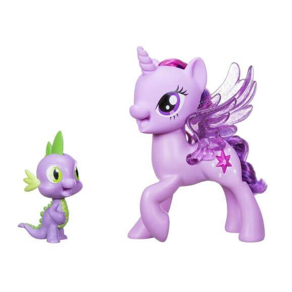 My Little Pony Movie Twilight Sparkle & Spike the dragon friendship duet