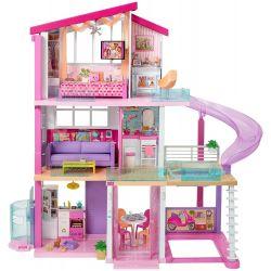 Barbie Dreamhouse dockskåp med rutschkana