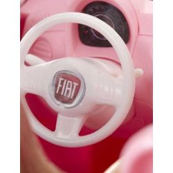 Barbie med bil Fiat 500