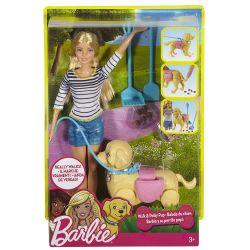 Barbie Walk & Potty Pup med valpträning