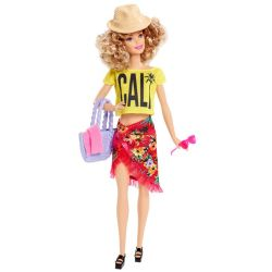 Barbie Doll Vacation Gul T-Shirt