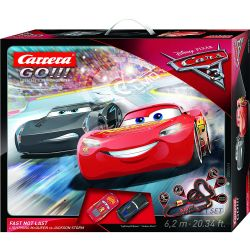 Carrera Go Cars 3 Fast Not Last Racecourse