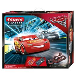 Carrera Go Race Course Cars 3 Finish First 500 cm