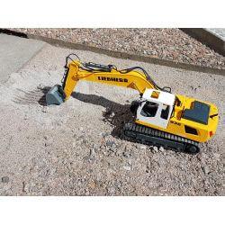 Radiostyrd Liebherr grävmaskin R936 med rivningsset Jamara 1:20
