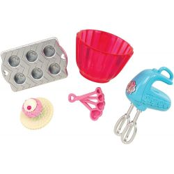Barbie Bakset Mini Accessoarer