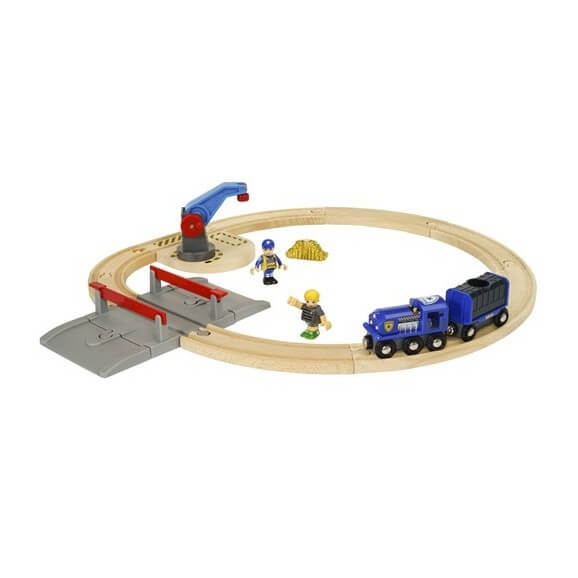 BRIO Polis Transport Set