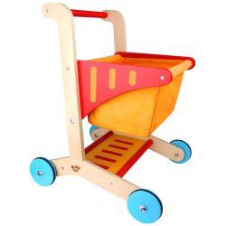 Kundvagn Leksak till barn i trä Tooky Toy