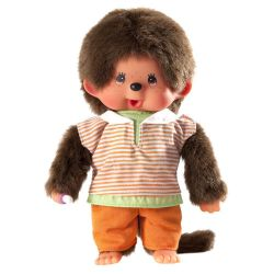 Monchhichi Trouser Boy Kille med snygg outfitl 15 cm