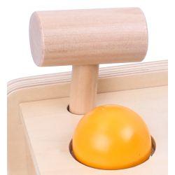 Musiklåda i trä, slaginstrument Tooky Toy