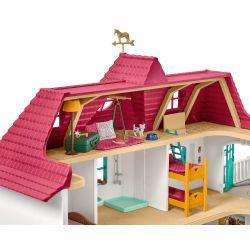 Schleich hästgård med hus och stall 42416