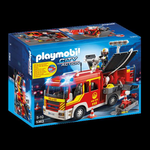 Playmobil Brandbil med ljus och ljud 5363