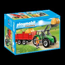 Playmobil Stor Traktor med Släp 6130