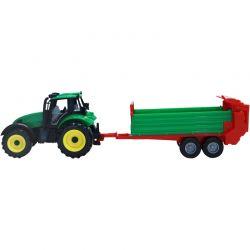 Leksakstraktor med gödselspridare Ideal Farm