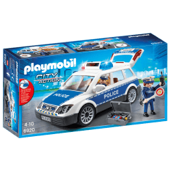 Playmobil Polisbil med Ljud och Ljus 6920