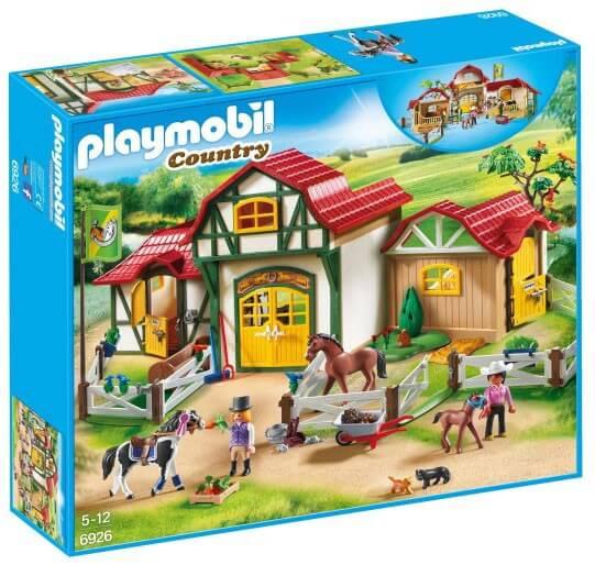 Läs mer om Playmobil Större Ridanläggning 6926