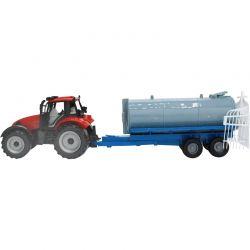Leksakstraktor med tankvagn Ideal Farm