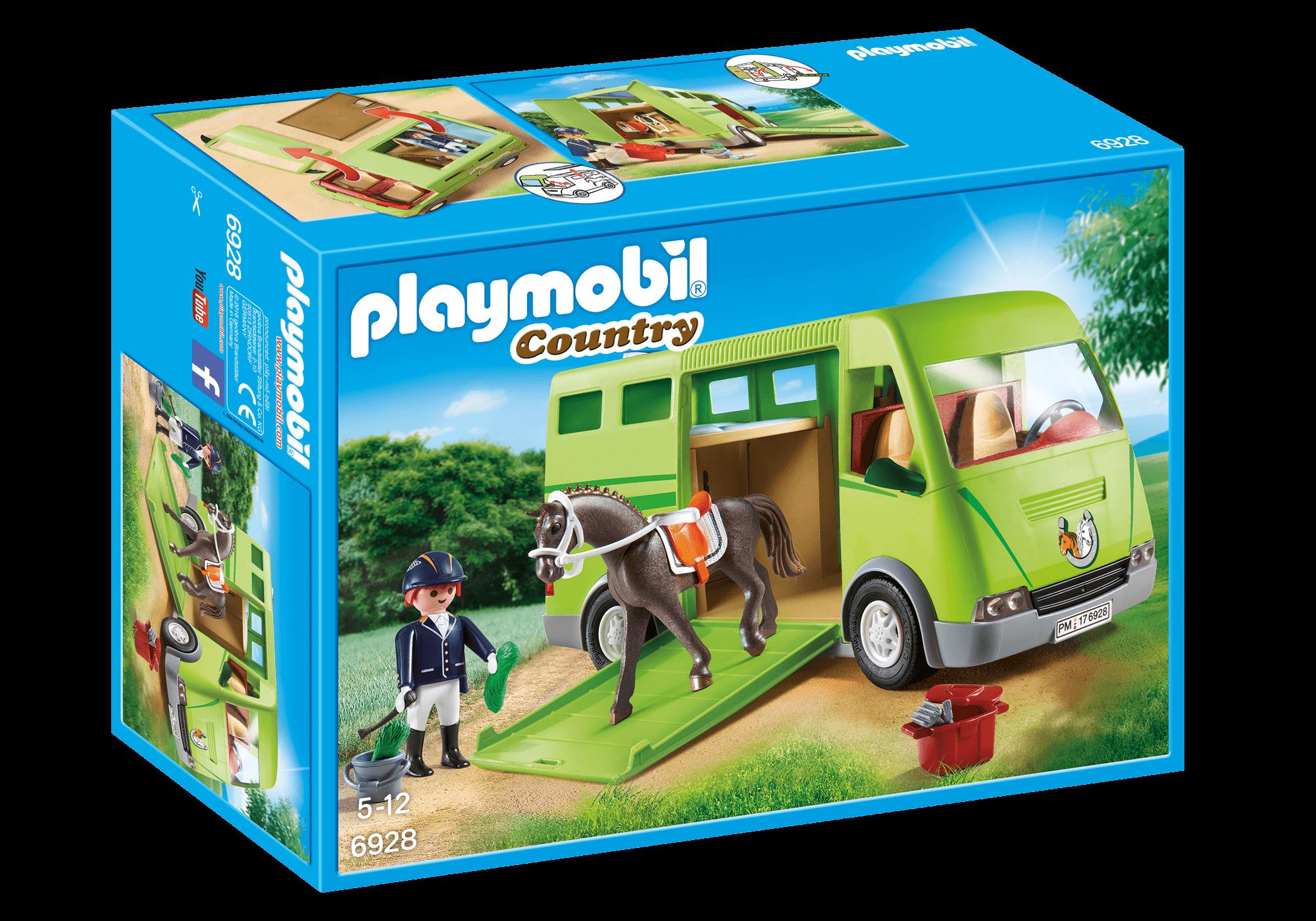Läs mer om Playmobil Hästtransport 6928