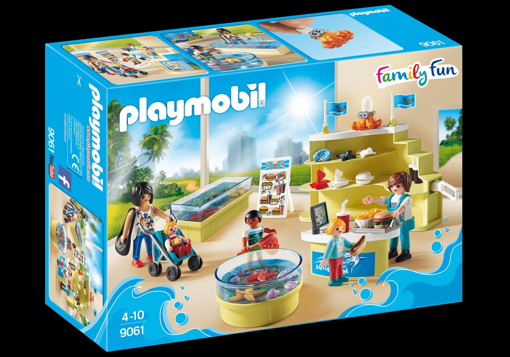Läs mer om Playmobil Aquariumbutik 9061