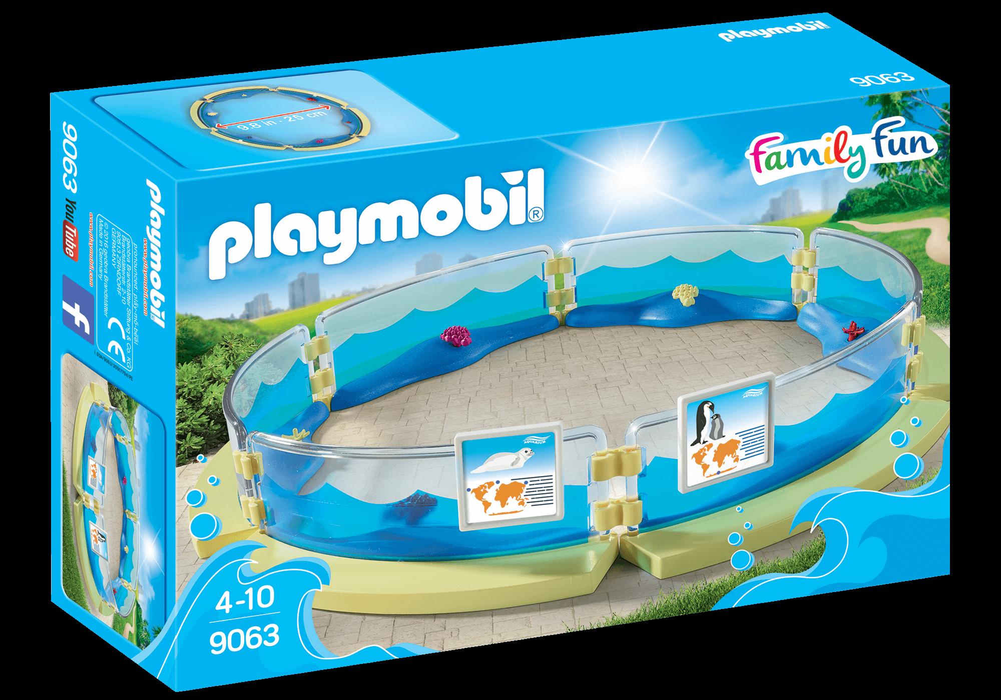 Läs mer om Playmobil Akvarium Bassäng 9063