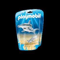 Playmobil Hammarhaj med Unge 9065