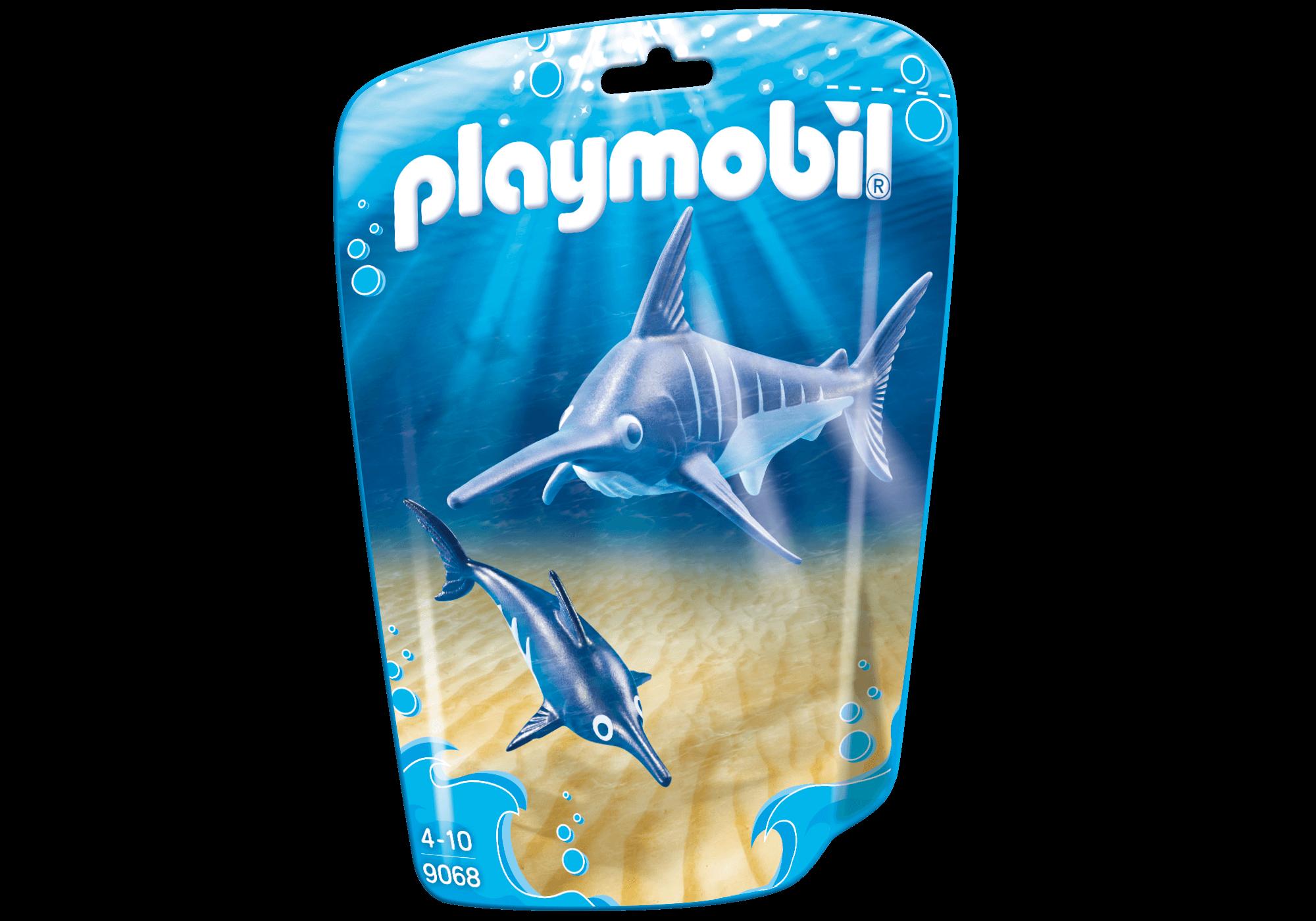 Läs mer om PlaymobilSvärdfisk med Unge 9068