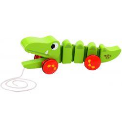 Krokodil ledbar dragleksak Tooky Toy