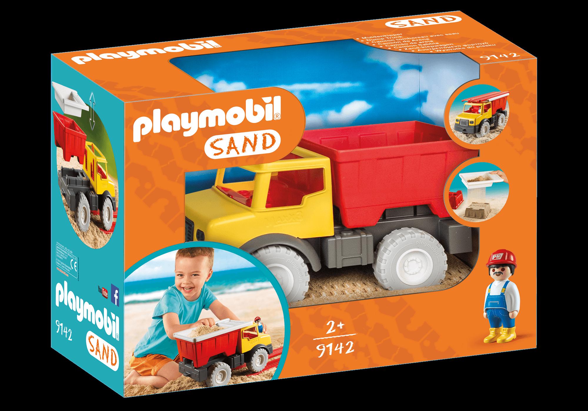 Läs mer om Playmobil Anläggningsbil 9142