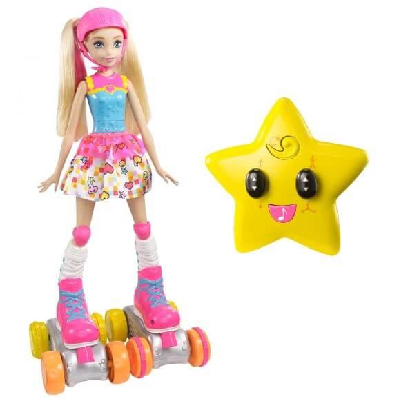 Barbie Video Game RC Roller Skater FDN00