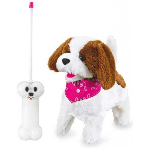 Radiostyrd Lucky Plush Hund 27 Mhz