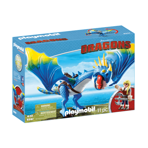 Playmobil Astrid & Stormfly Drake 9247