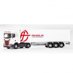 Emek Scania S BOX Semitrailer AHOLA