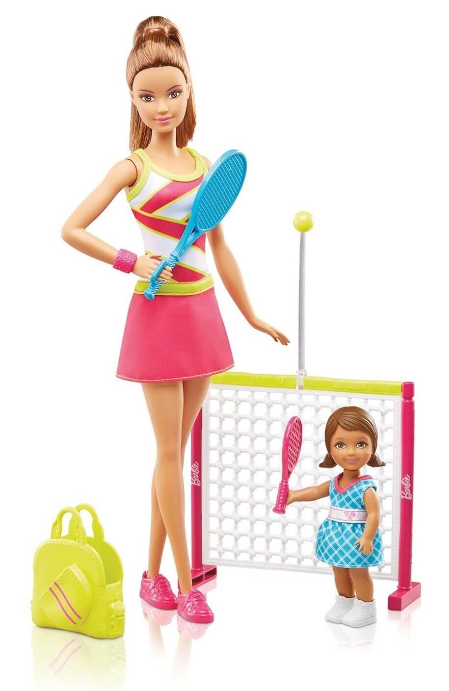 Barbie Careers Tennis Coach Playset DVG15