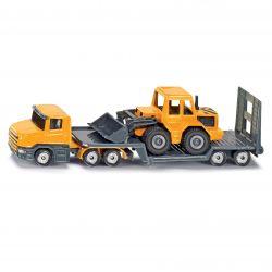 Siku Lastbil med trailer och hjullastare