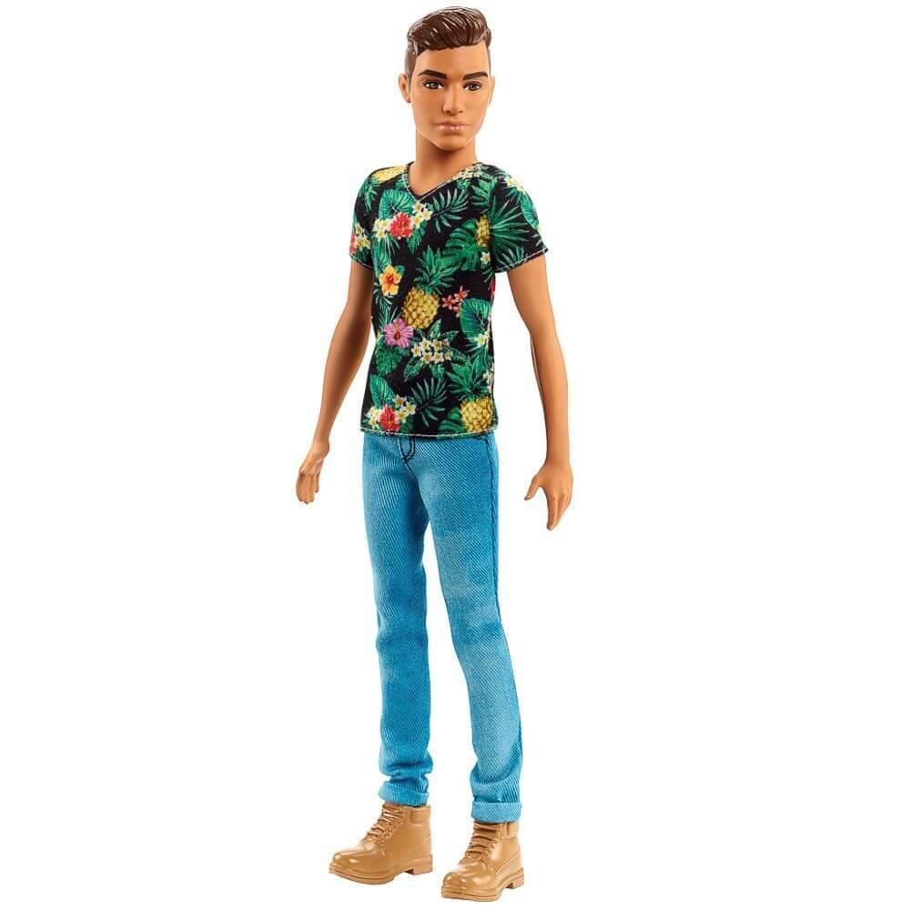 Barbie Ken Fashionista Tropical Vibes Mattel FJF73