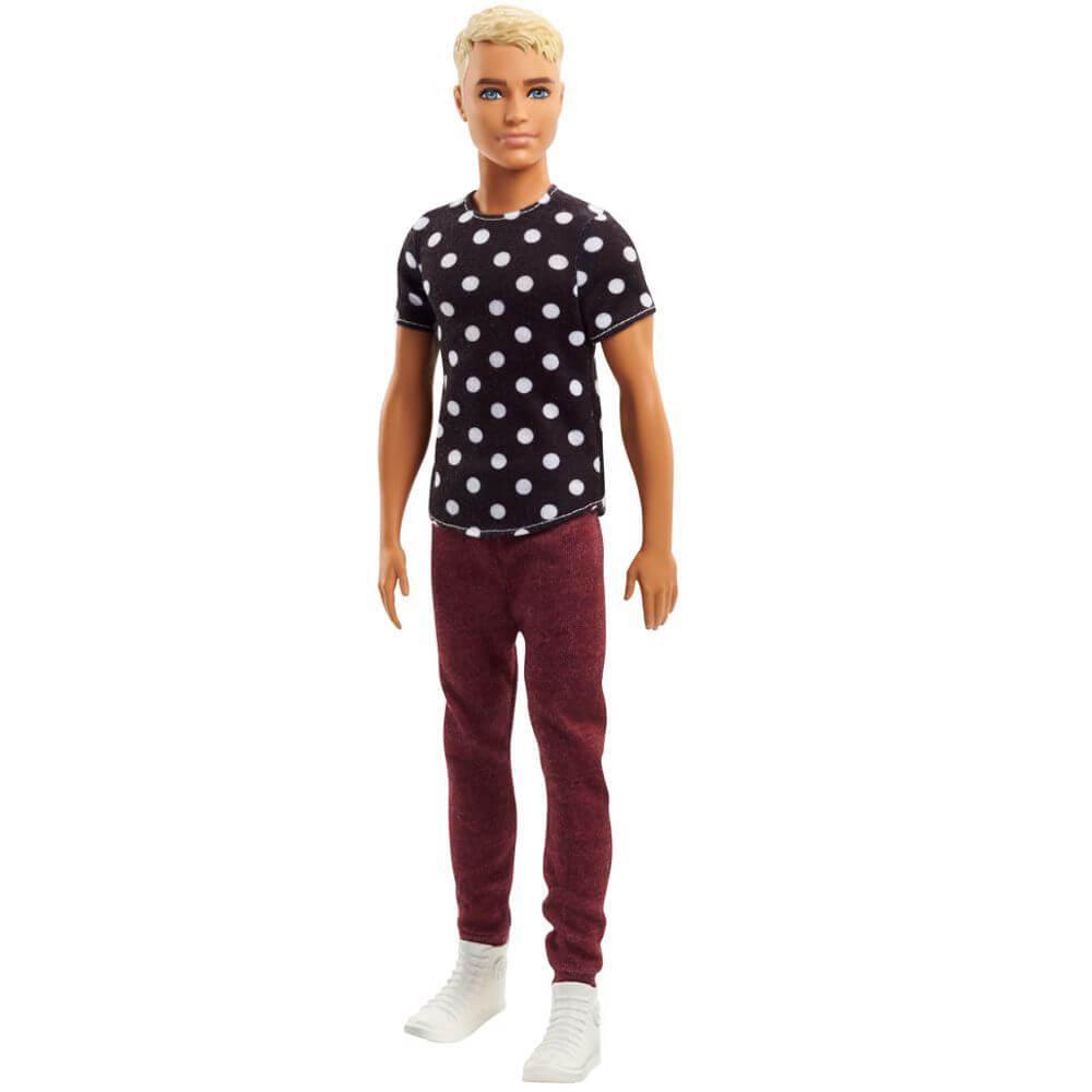 Barbie Ken Fashionistas Black and White Ken Mattel FJF72