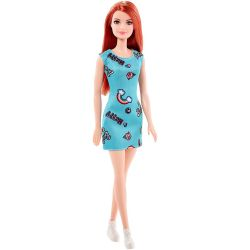 Barbie Floral Flair Fashionistas Blommig Klänning Mattel DMF30